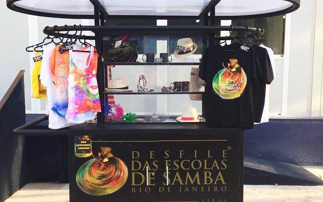 Desfile das Escolas de Samba do Rio de Janeiro Carnaval Loja de Produtos Oficiais