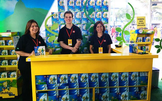 Casa Lego Rio 2016 Loja de Produtos Oficiais